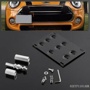 Fit For Mini Cooper R60 R61 F55 F56 Front Bumper Tow Hook License Plate Bracket
