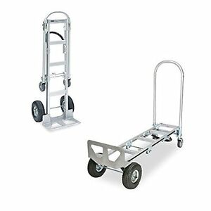 Nk Heavy Duty 2 In 1 44 Junior Convertible Aluminum Hand Truck Pick Up Only