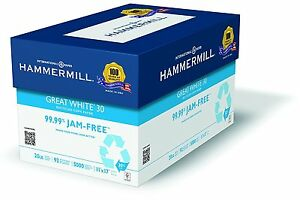 Hammermill Paper Great White Copy Paper 30 Recycled 20lb 11 X 17 Ledger 92