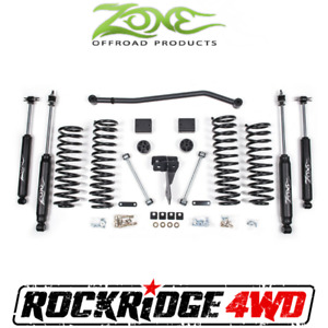 Zone 4 Suspension Lift Kit 07 18 Jeep Wrangler Jk 2 Door Rubicon non Rubicon