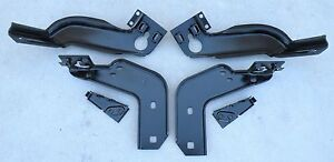 Thunderbird Ford Rear Back Bumper Mounting Brackets Support 64 66 1964 1966 Oem