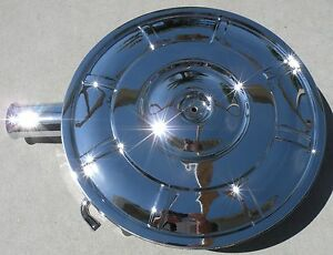 Thunderbird Chrome Air Cleaner Carburetor Cover Fe 390 Oem Ford 65 67 1965 1967