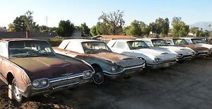 Thunderbird Tbird 1961 1966 61 66 Ford Original Used Factory Parts Cars