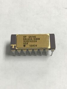 Hewlett Packard Hp 6n140a 883b 8302401ea High Gain Optocoupler 1 5kv 16 Pin