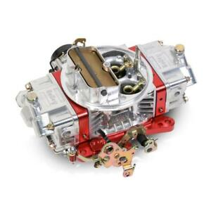 Holley Carburetor 0 76850rd 850 Cfm Electric Choke Red polished