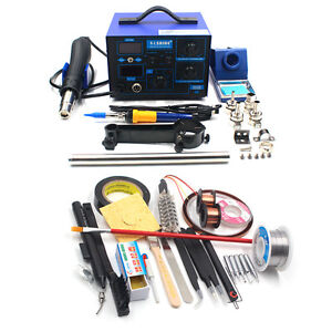 220v 110v Bga Hairdryer Soldering Iron Station Saike 952d 2 In 1 Hot Air Gun