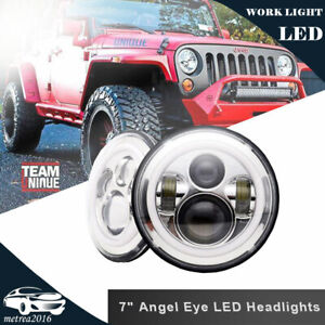 2pc 7inch 120w Total Led Headlight Upgrade Lamp Hi Lo Beam For Vw Beetle Classic