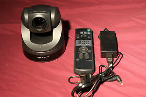 Sony Evi d70 Ptz Color Video Camera With Remote And Power Supply Pan Tilt Zoom