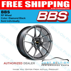 Bbs Rf 18x8 5x100 Et45 70mm Diamond Black Wheel Pfs clip Required Forged