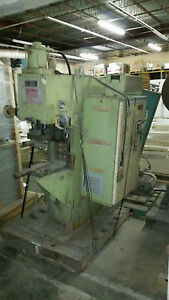 Spot Welder Taylor Winfield Ene12 100 220v 100 Kva Air Operated Resistance Spot