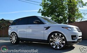 24 Rf24 Wheels Rims For Range Rover Hse Supercharged Range Rover Sport