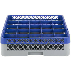 Commercial Dishwasher Machine 25 Cup Glass Tray Rack 1 Extender Automatic Washer