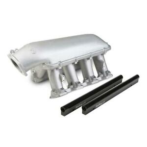 Holley Intake Manifold 300 124 Hi Tech Tunnel Ram Satin Aluminum For Chevy Ls7