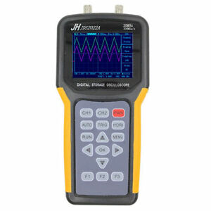 Jds2022a Handheld Digital Oscilloscope 2ch 20mhz 200msa s Scope Meter Multimeter