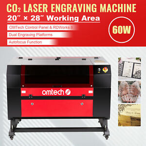40w Co2 Laser Engraver Cutting Machine Cutter W Digital Electric Current Displa