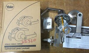New Nos Yale 7407ln Door Lock Assembly With Intellikey Cylinder Grade 1 Lever