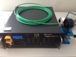2012 Coherent Highlight Fap Duo 808nm Fiber Delivered Diode Laser Cw Pulsed 30w