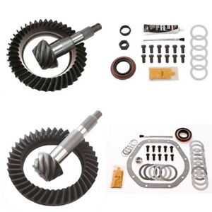 3 55 Ring And Pinion Gears Install Kit Package Dana 44 Front 9 25 Rear
