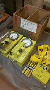 Cdv 7772 Radiation Detection Kit With Geiger Counters Included An Original Box
