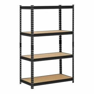 Commercial Heavy Duty Storage 4 Shelving Solid Sturdy Racks Industrial Warehouse