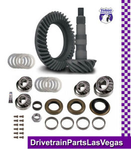 Yukon Ring Pinion Gear Set Ford 8 8 Reverse 4 56 Ratio Ifs Master Install Kit