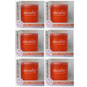 Viccolor Jdm Air Freshener Pure Apple 6 Packs For Car Vehicles Diax Poppy Sweet