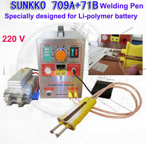 1900w 220v Pulse Battery Spot Welder 709a Solder Iron Station 71b Welding Pen