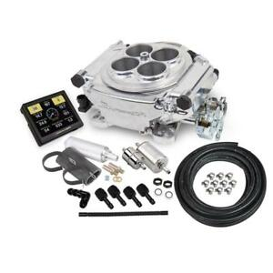 Sniper By Holley Fuel Injection System Kit 550 510k 650hp Self Tuning Polished