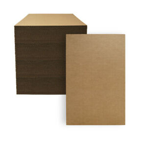 100 11 X 17 Corrugated Cardboard Kraft Pads Inserts Sheet 32 Ect Made In Usa