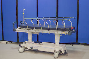 Stryker 1005 Glide Away Stretcher Gurney Bed Glideaway W Mattress 99 Shipping