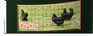 Electric Fence Netting For Chickens 164 roll Green