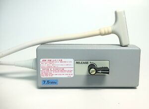 Aloka Medical Ultrasound Sector Linear Probe 7 5mhz Ust 5514dtu 7 5 Mhz used