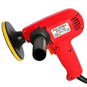New 5 Electric Car Polisher Detail Waxer Buffer Sander Variable Speed Boat Ho
