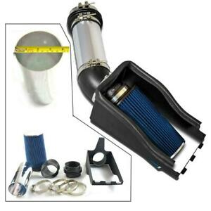 4 Heat Cold Air Intake Filter For 99 03 Ford F250 F350 Super Duty 7 3l Blue