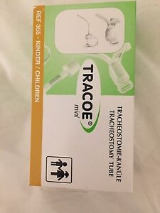 New Never Used Tracoe Tracheostomy Tube 3 0mm 36mm Length