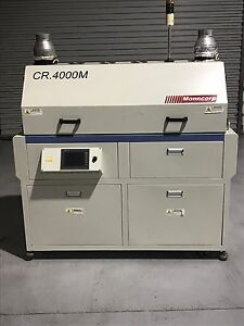 Manncorp Lead Free Reflow Oven Cr 4000m Pre own Yr 2009 2010
