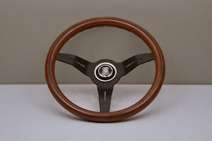 Nardi Deep Corn 330mm Wood Black Spoke Steering Wheel 5069 33 2000 In Stock
