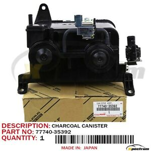 Genuine 1996 2001 Toyota Tacoma 4runner Oem Charcoal Canister 77740 35392