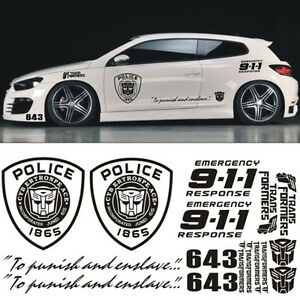 Cool Decal Side Stickers Diy Set Stickers For Car