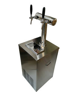 30inch 1 tower Beer Kegerator Keg Dispenser Cooler Fridge 304 Stainless Steel