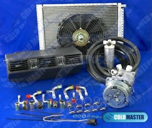 Underdash Air Conditioning Kit 404 1 12v Comp 508 With Elec Harness