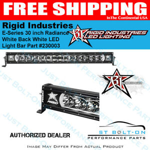 Rigid Radiance Plus 30 Inch White Back light Led Light Bar 230003