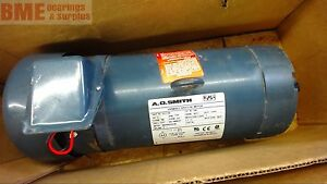A o Smith D081 2 Hp Variable Speed Dc Motor 1750 Rpm 190 Arm Volts 145tc Fr