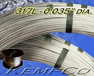 330 Ft Ss 317l 035 Diameter Stainless Wire Diy Hho Craft Custom Annealed