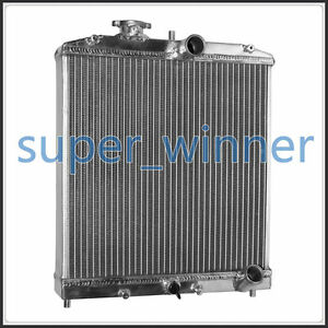 Universal Aluminum Radiator 56mm For Honda Civic 1992 1998 Manual Mt