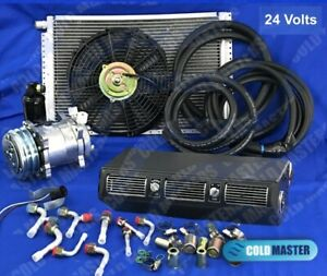 A C Kit Universal Under Dash Evaporator 450 Hd Kit Air Conditioner 24v