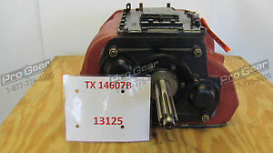 Eaton Fuller Transmission 7 Speed Tx14607b