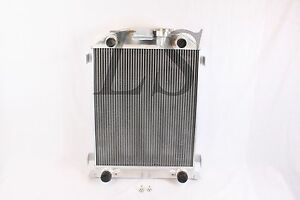 New Ford Flathead Flat Head Engine Aluminum Radiator 1937 1938 37 38 3 Row