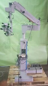 Carl Zeiss S3 Opmi 6 sfc Opthalmic Microscope W Foot Switch For Eye Surgery