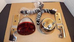 1955 1956 1957 1958 1959 Chevrolet Truck Gmc Stainless 2 Taillight
